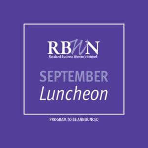 RBWN September Luncheon